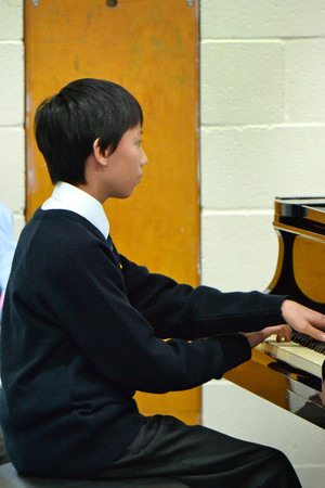 Independent School pianist