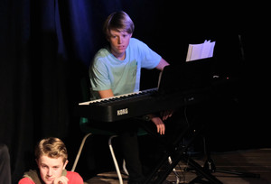 L5th boy technician in Devised Play