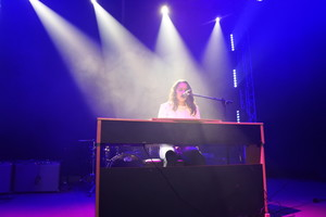 Pianist performing on stage in Stars in their Eyes