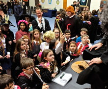 Prep School pupils watch potions made Harry Potter Night