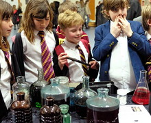 Prep School pupils make potions for Harry Potter Night