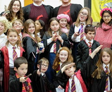 Harry Potter event in the Prep School