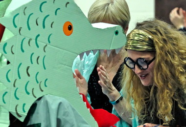 Dragon at Harry Potter Book Night