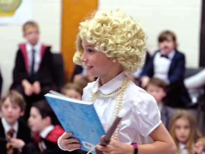 Queenie at Harry Potter Book Night