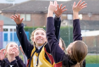 Young & Alliott are House Netball Winners