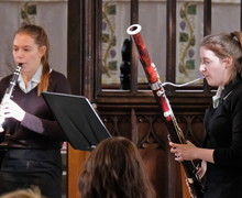 Mary & Ailsa perform in St Michael