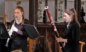 Mary & Ailsa perform in St Michael's Church