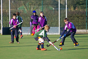 Grimwade play Newbury in F1 & F 2 House Hockey