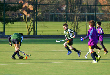 Grimwade v Newbury in F1 & F2 House Hockey