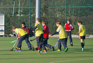 Westfield v Monk Jones in F1 & F2 House Hockey