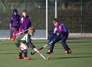 Grimwade v newbury in u11 house hockey