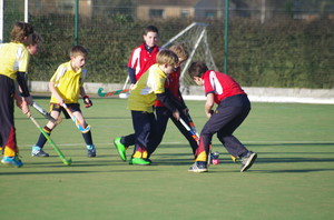 Monk Jones v Westfield in U11 House Hockey