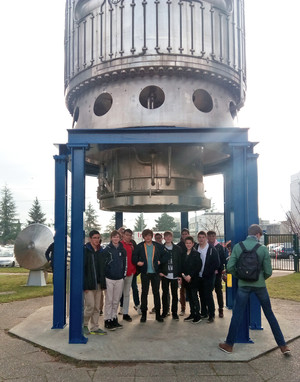 A level physics visiting cern 2018