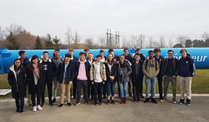 A Level Physics Students at CERN 2018