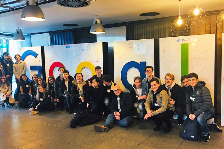 Sixth form business trip to google dublin