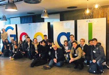 Fantastic Sixth Form Business Trip to Google