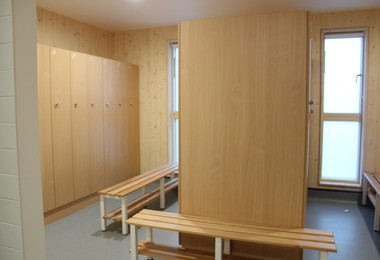 Rowe House Changing Room