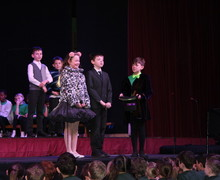 Prep School Shell Play Charlie & Chocolate Factory scene
