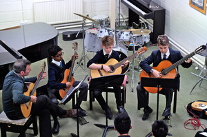 4th Form Concert Guitarists