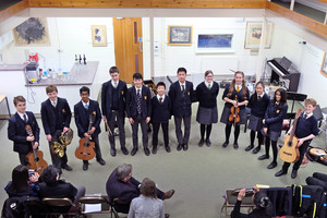 4th Form Concert Group in Recital Room