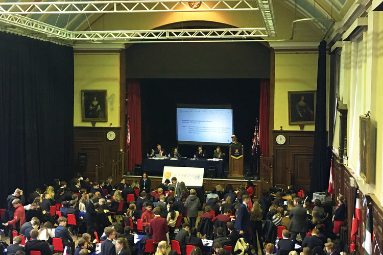 Un model conference at felsted 2018