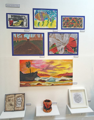 Chigwell art exhibits by prep school