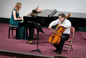 Cameron Smith & Madelaine Jones Recital in Mem Hall