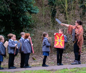 Shell Romans approaching Pre-Prep