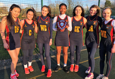 U18A Netballers Shoot for Success