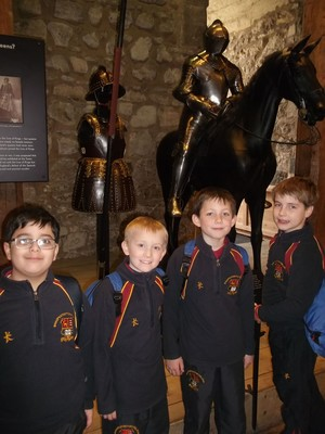 Upper Shell boys at the Tower of London