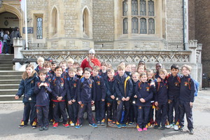 Pupils in Upper Shell at the Tower of London
