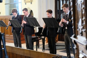 Clarinet Ensemble in St Michael's Church
