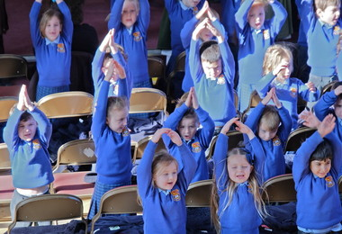 Pre-Prep Pupils at Easter Service