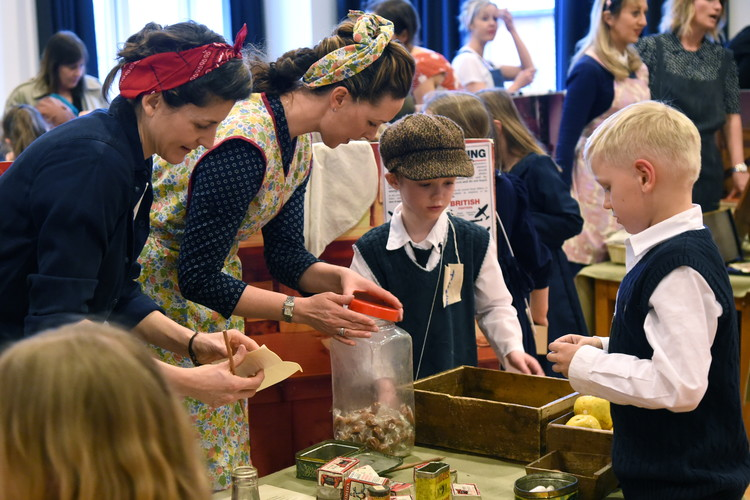 World War II Day for Pre-Prep Pupils