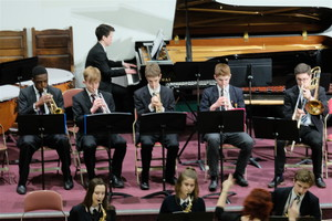 Brass Ensemble at Ensemble Concert March 18