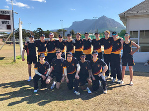 Senior School cricketers on tour in S Africa 18