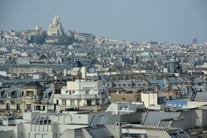 View of Paris on 6th Form Art Trip