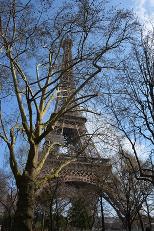 Eiffel Tower on 6th Form Art Trip