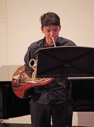 Bassoonist in Rotary Young Musician Competition