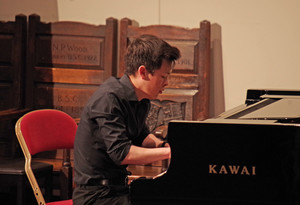 Playing the piano in Rotary Young Musician Competition