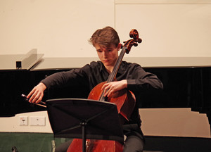 Cellist in Rotary Young Musician Competition