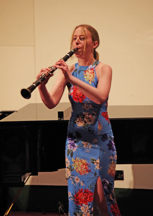 Pupil on Clarinet in Rotary Young Musician Competition
