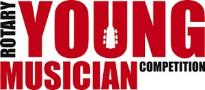 Rotary Young Musician Competition 2018 logo