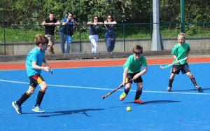 Shell hockey match in league competitions