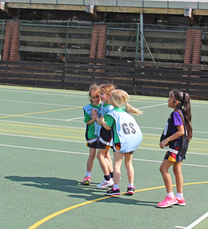 Shell League Competitions netball pupils