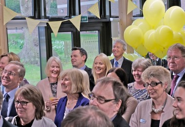 Guests at Opening of Trotman House April 2018