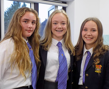 Smiling Alliott House girls