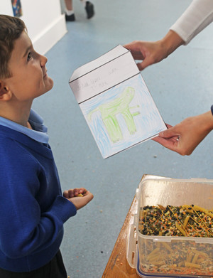 Reception grow dinosaur seeds