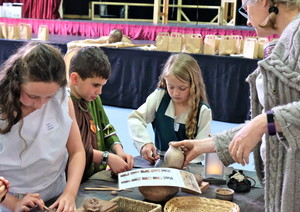 Lower Shell Viking Day Skills & Crafts Workshop