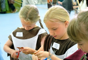 Lower Shell Girls in Viking Britain Day